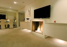 EcoSmart Fire 900SS Firebox installation by Form, Australia