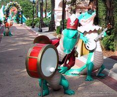 Mardi Gras Mini-Parade at Disney's Port Orleans Resort