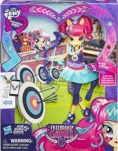 My Little Pony Equestria Girls Friendship Games Sour Sweet Sporty Style Doll NIP #MyLittlePonyEquestriaGirls