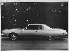 1974 - 1975 Chrysler Imperial (WPC News Article) | I used to ride in my grandfather's Imperial on the way to the Capital Center to see the Bullets' basketball games.