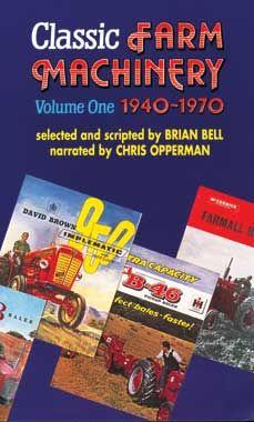 Classic Farm Machinery 1940-1970 Volume #1 DVD