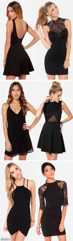 Vestidos pretos de festa