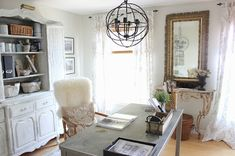 Organize it Gorgeous!  Home Office is Rustic Gold Glam