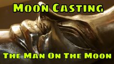 Casting The Man On The Moon - Anniversary Lunar Landing Challenge Man On The Moon, The Man, Buzz Aldrin, Moon Landing, 50th Anniversary, Metals, It Cast, Make It Yourself