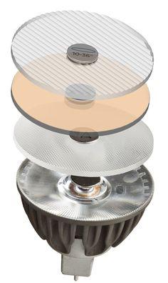 Soraa Vivid 3 MR16 GU5.3 - Vollspektrum LED Spot - Snap System Unendliche Möglichkeiten: Das Snap-System  Das Soraa-Snap-System ist das erste System seiner Art. Das Zubehör ist optimal auf die Soraa Vivid LED leuchtmittel abgestimmt. Basierend auf der überragenden Lichtleistung und dem präzisen Strahlengang der Soraa LEDs, bieten die verschiedenen Filter und Blenden individuelle Anpassungsmöglichkeiten für fast alle erdenklichen Beleuchtungssituati ...