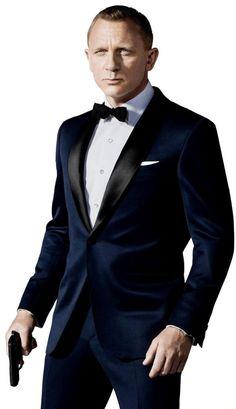 James Bond Black tie style