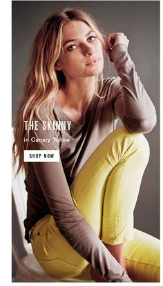 Rag N Bone - Just In: The Skinny In Canary Yellow