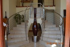 One of our long necked vessels in situ at a client's house.