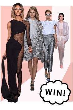 runway missguided models gif