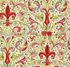JaponskaZahrada / Florentský art papier Medici