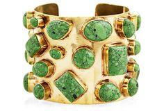 Bendall Cuff, Green Turquoise on OneKingsLane.com