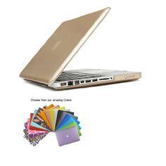 """Amazon.com:TECOOL(TM) マックブック用ハードケース 超薄型 最軽量 プラスチック【全27色】マウスパッド付 MacBook Pro 13""""13.3インチ専用 モデル:A1278(ブラック): グリーン・ショップ"""
