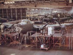 Lancasters in production