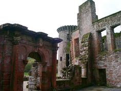 Caerlaverock Castle Map