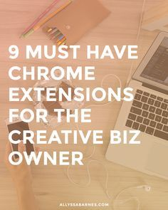 As an online owner, you spend a lot of time online in Chrome. Here are 9 must-have Chrome extensions to make running your business easier. Business Marketing, Content Marketing, Online Marketing, Media Marketing, Marketing Tools, Digital Marketing, Creative Business, Business Tips, Online Business