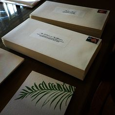 Our tropical wedding invitations