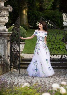 Vestidos de Novia con Estampados de Flores 3