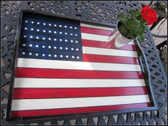 homeroad: Imperfect Flag Tray