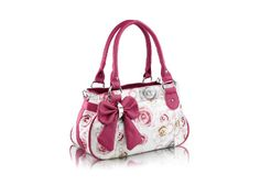 Casual Shoulder Bag With Bowknot and Floral Print Design | Fashion Uk Shop