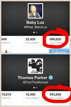 Not only does Josh Devine have more followers than Tom, but Lux, Lou Teasdale's BABY has more followers!!! Mwhahahahahahhahahah