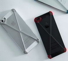 The profile of the case is so slim, it barely extends beyond the sleep and the volume buttons on the sides of the iPhone.