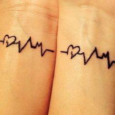 Cute couple tattoo ideas #tattoos