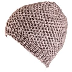 Black Nutmeg Brown Cashmere Beanie Hat (£35) ❤ liked on Polyvore featuring accessories, hats, cashmere hat, cashmere beanie hat, brown beanie, beanie cap hat and cashmere beanie