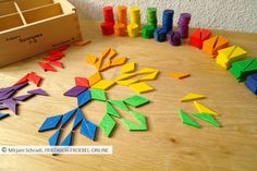 So legt man ein Mandala aus Spielgaben- tolle Spielidee für das Legespiel 7, das auf den Pädagogen Fröbel zurückgeht und Kindern Kreativität auf höchstem Niveau ermöglicht und dabei mathematische Erkenntnisse ganz nebenbei im Spiel bereithält...