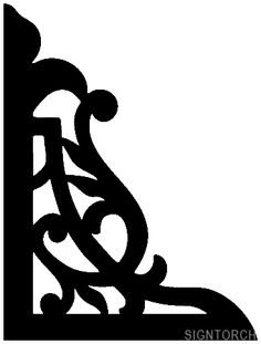 Objects - Porch Bracket | ReadyToCut - Vector Art for CNC - Free DXF Files