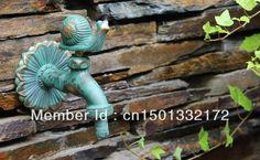 Washing machine tap.wall mounted water faucet.Animal shape faucet.garden bibcock garden animal taps(China (Mainland))