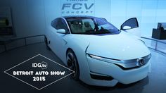 Detroit Auto Show - What is hydrogen fuel cell technology?