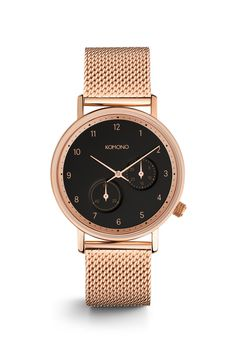 The Walther Mesh Rose Gold