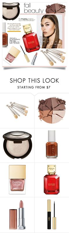 """""""Senza titolo #2129"""" by elisabetta-negro ❤ liked on Polyvore featuring beauty, lilah b., Essie, Michael Kors, Maybelline, Yves Saint Laurent and fallbeauty"""