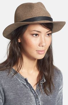 9197f020b32 rag  amp  bone  Abbott  Wool Fedora available at  Nordstrom 195.00 Boho  Festival