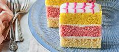 British Baking Show Recipes, British Bake Off Recipes, Great British Bake Off, Baking Recipes, Cake Recipes, Fondant Icing Sugar, Pink Icing, Angel Cake, Angel Food Cake
