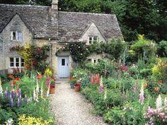 Cottage Garden Bilbury Gloucestershire England Beautiful Photos Pictures Of Gardens