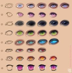 Eye steps by Dorinootje