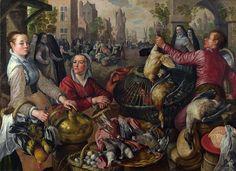 Joachim Beuckelaer - The Four Elements: Air [1569]