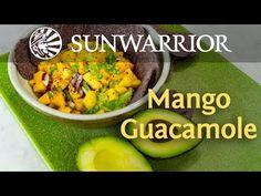 Spicy Mango Guacamole Recipe   Jason Wrobel - YouTube Clean Recipes, Raw Food Recipes, Appetizer Recipes, Cooking Recipes, Healthy Recipes, Mango Guacamole, Guacamole Recipe, Vegan Chef, Vegan Vegetarian