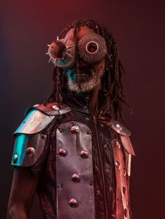 """blackcontemporaryart: """" MACICIO (Kikuyu word for """"spectacles""""), 2015 CONCEPT/PHOTOGRAPHY: Osborne Macharia COSTUME & SPECTACLE DESIGN: Kevo Abbra """"This is my first of many fictional stories to come...."""