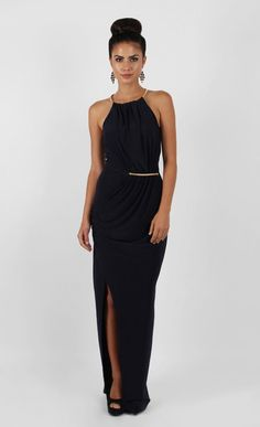 Chiffon Halter Wrap Maxi | Pagani | Pinterest | Buy dress ...