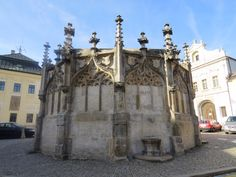 Gothic Stone Fountain - Kutna Hora, Czech Republic Stone Fountains, Czech Republic, Barcelona Cathedral, Trip Advisor, Gothic, Castle, Building, Photos, Travel