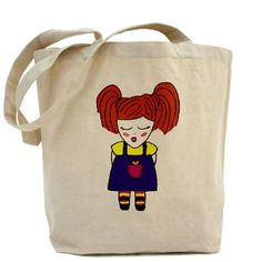 Molly Tote Bag by Munchie and Me