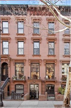 1000 images about new york real estate on pinterest for Nyc townhouse for sale