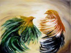 Resultado de imagen de pinturas modernas de gallos