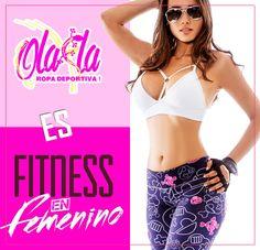 Ola-la Ropa Deportiva es FITNESS EN FEMENINO. ¿Y tú que eres?  http://www.ola-laropadeportiva.com/body-fitne…/208-4121.html  #Fitness #Mujer #Ropadeportiva #Colombia