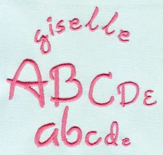 330 Giselle Mini Satin Font - Jolson's Designs