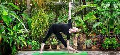 Trikonasana Yoga Pose - Triangle Yoga Pose