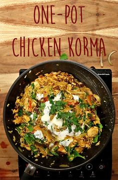 One-Pot Chicken Korma