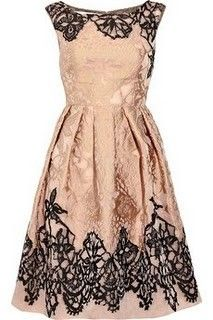bridesmaid ~ blush & black